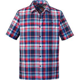 Schöffel Bischofshofen1 UV t-shirt Heren rood/blauw